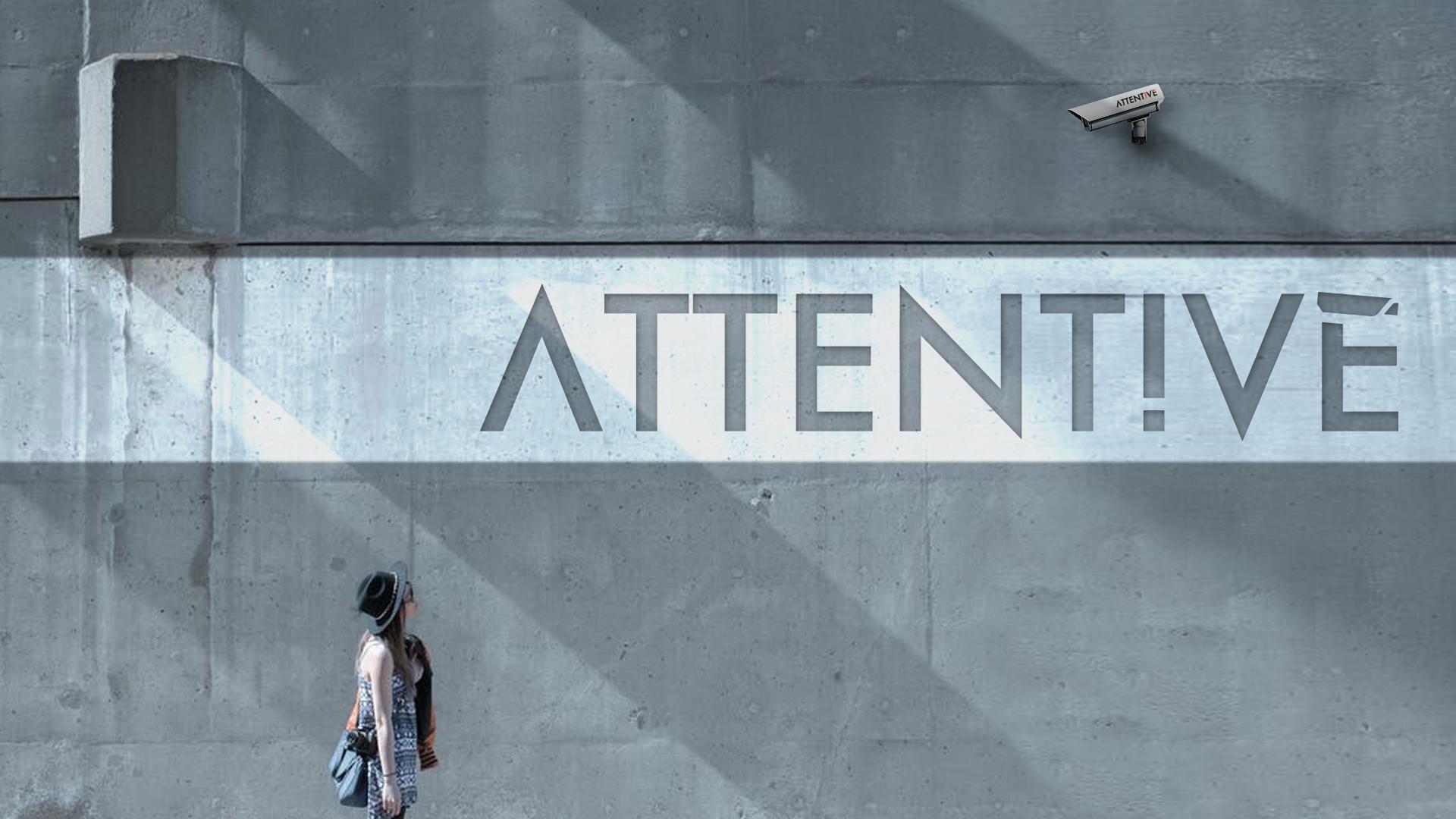 Attentive logo design