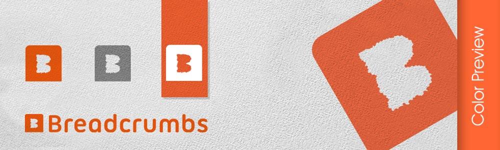 Breadcrumbs logo design