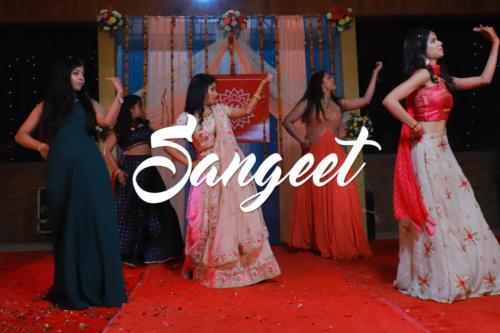 Tilak Engage Sangeet
