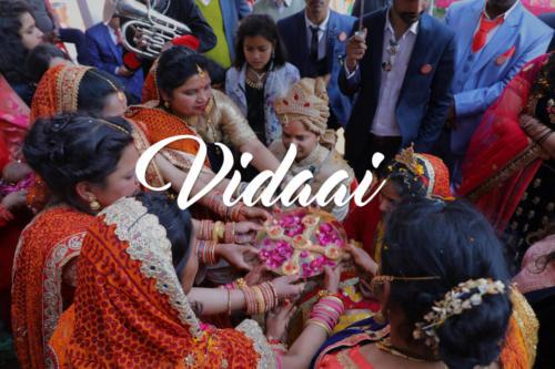 Vidaai and Grah Pravesh